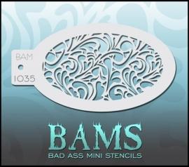 Bad Ass Stencil 1035