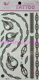 Sieraden Tattoos HM370