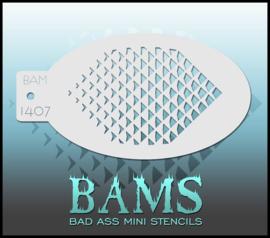 Bad Ass Stencil 1407