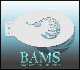 Bad Ass Stencil 1411