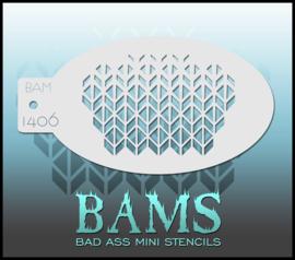 Bad Ass Stencil 1406