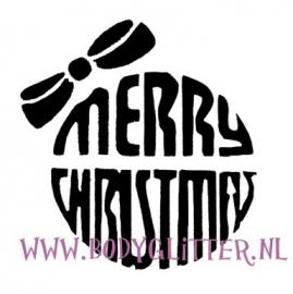Kerstbal Merry Christmas