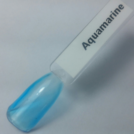 Liquid Glass Gel Aquamarine Blue