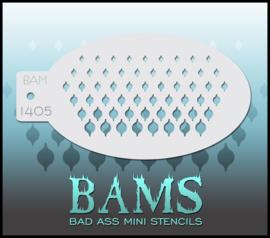 Bad Ass Stencil 1405