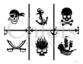 Pirate (Theme Stencil)
