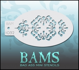 Bad Ass Stencil 1032