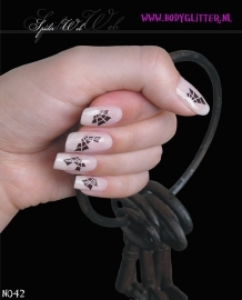 SmART Nails N042 - Spider Web