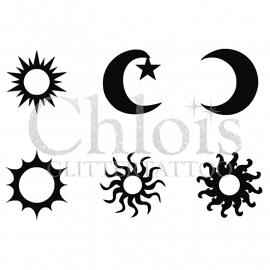 Sun & Moon (Multi Stencil 6)