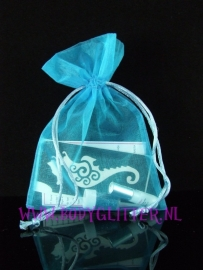 Minisetje Turquoise Seahorse Wirly