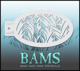 Bad Ass Stencil 1418