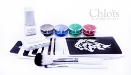 Chloïs Glittertattooset Bad Boy