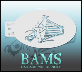 Bad Ass Stencil 1413