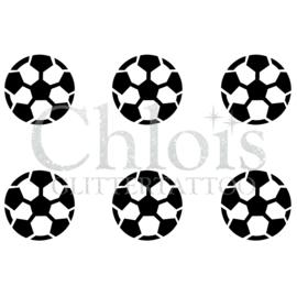Soccer Football (Multi Stencil 6)