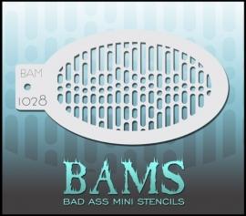 Bad Ass Stencil 1028