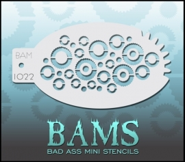 Bad Ass Stencil 1022