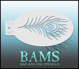 Bad Ass Stencil 1417
