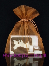 Minisetje Brown Chocolate Dog