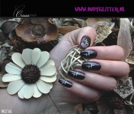 SmART Nails N036 - Crosses