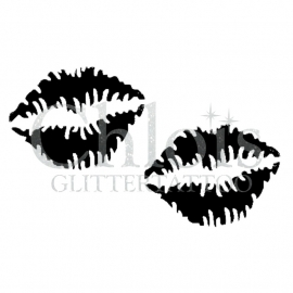Kiss (Duo Stencil)