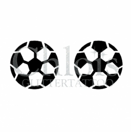 Soccer Football (Duo stencil)
