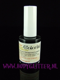 Colorini Tattoolak Zwart 15 ml