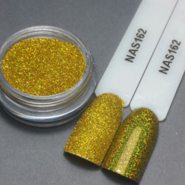 Nailart Decor Sand Holografisch Yellow Gold 162