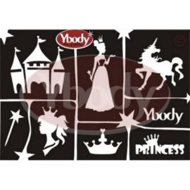 A5 Princess Themastencil