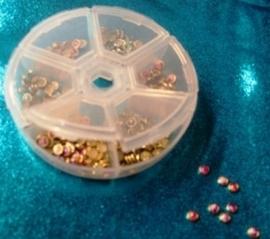 Jewelry Box Round 6 compartments