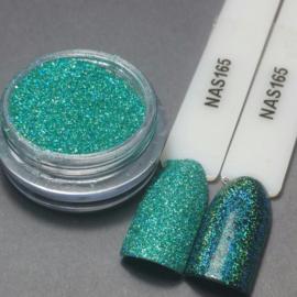 Nailart Decor Sand Holografisch Turquoise 165