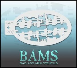 Bad Ass Stencil 1207