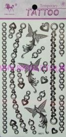 Sieraden Tattoos HM371
