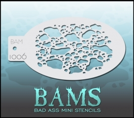Bad Ass Stencil 1006