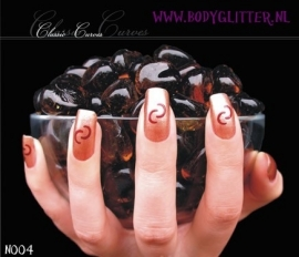 SmART Nails N004 - Classic Curves
