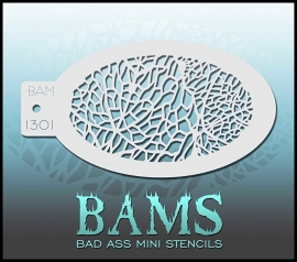 Bad Ass Stencil 1301