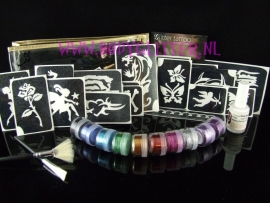Glitter tattoo set Big Party