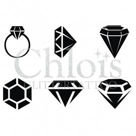 Diamond (Multi Stencil 6)
