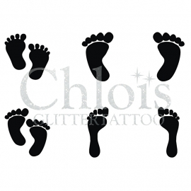 Feet (Multi Stencil 6)