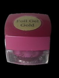 Nailart & Foil Gel Goud 5 ml