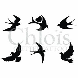 Birds (Multi Stencil 6)