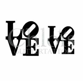 LOVE (Duo Stencil)