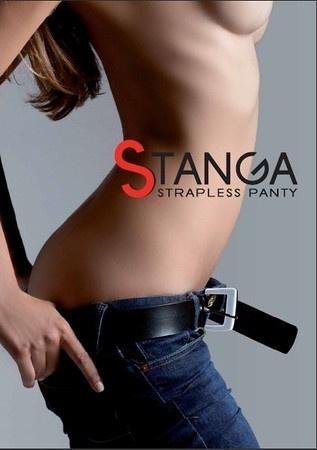 Stanga Strapless Panty Heart Black