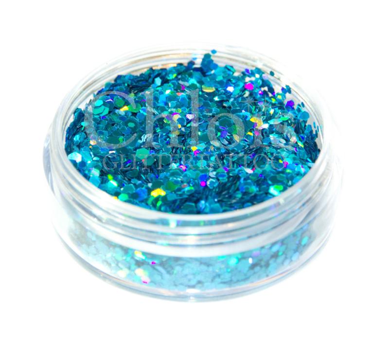 Chloïs Glitter Flakes Laser Blue 20 ml