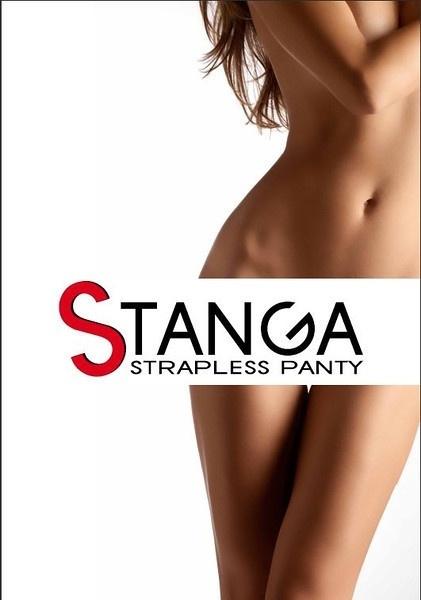 Stanga Strapless Panty Heart Cream (White)