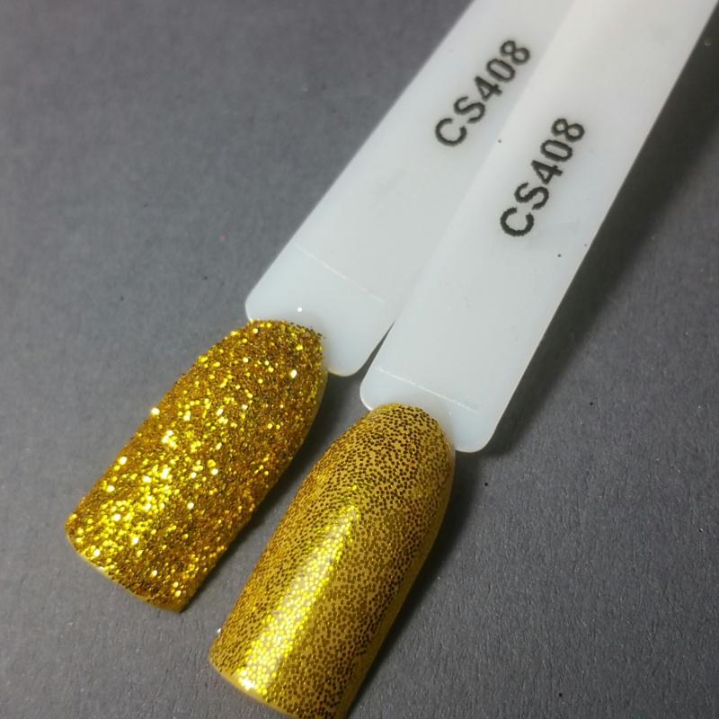 Crystal Nailart Sugar Sparkling Gold 408