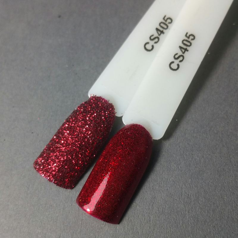 Crystal Nailart Sugar Sparkling Red 405