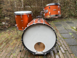 HUDSON Vintage drums orange copper 22-12-16fl.. 599 euro