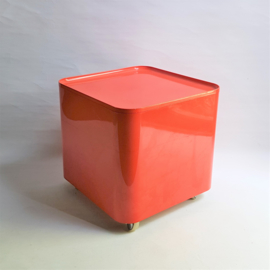 tafel trolley space age table marcello siard dime italy 1970s