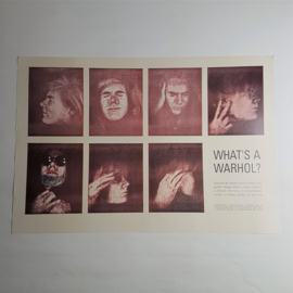 "andy warhol print poster ""what's a warhol"" playboy 1969 USA 1990"
