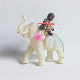 olifant elephant figurine celluloid toy 1930s