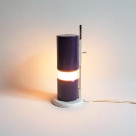 """tafellamp desk lamp w.h.gispen """"het schuivertje"""" giso line 1960s"""